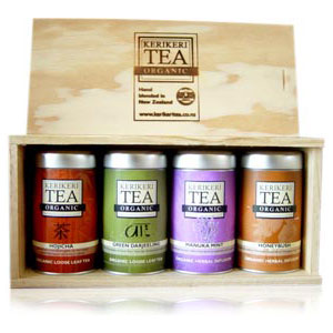 4 Tea Gift Box – Loose Leaf – Kerikeri Tea